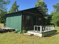 Unfinished Cabin on 8.21 Surveyed : Scotland : Van Buren County : Arkansas