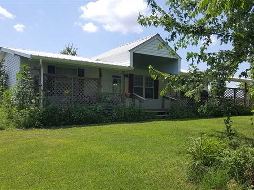 Modular Home With 40 Acres in : Marshall : Searcy County : Arkansas