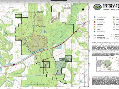 Dagmar Wma, 40 Acre Inholding, Pri : Brinkley : Monroe County : Arkansas
