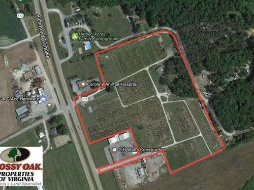 21.73 Acres of Land For Sale in Ca : Milford : Caroline County : Virginia