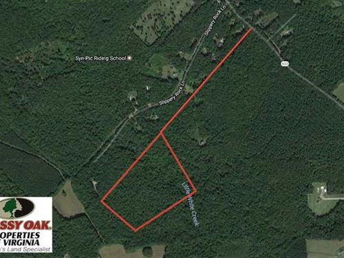 Under Contract, 23.9 Acres of Rec : Columbia : Goochland County : Virginia