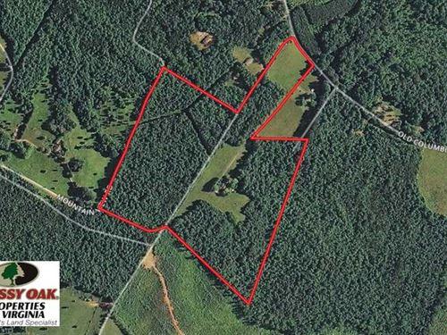 Under Contract, 55.86 Acres of Re : Goochland : Virginia