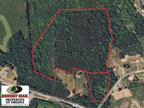 25 Acres of Hunting And Recreation : Nathalie : Halifax County : Virginia
