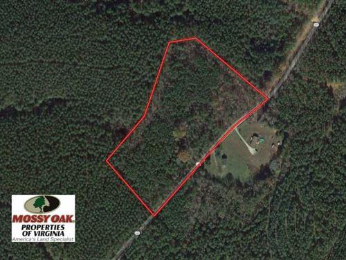 Under Contract, 9.44 Acres of Hun : Kenbridge : Lunenburg County : Virginia
