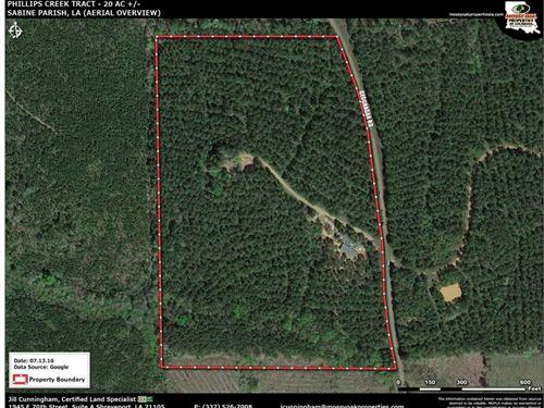 Phillips Creek Tract, Sabine Paris : Many : Sabine Parish : Louisiana