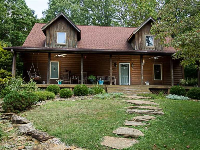 Cabin For Sale Parke County The Wh : Montezuma : Parke County : Indiana