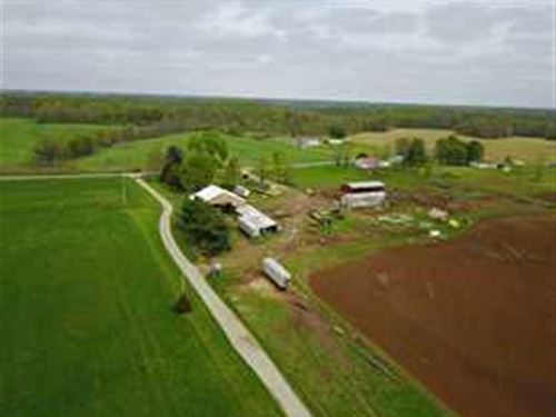 Rush County, IN - 54 Acres / 42 ar : Rushville : Rush County : Indiana