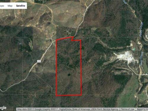 100 Acres Mature Timber, 2 Larg : Wideman : Izard County : Arkansas