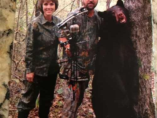 Bear Hunters Paradise on 60 Acr : Snowball : Searcy County : Arkansas