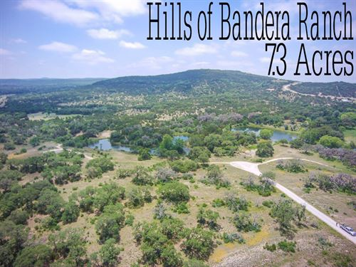 7.54 Acres In Bandera County : Bandera : Texas