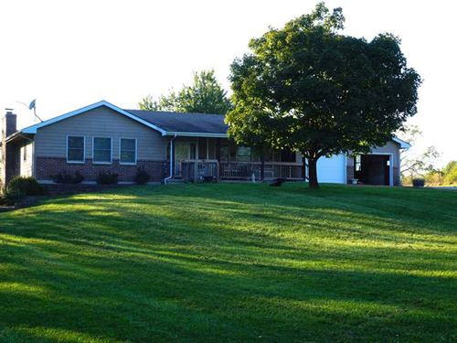Rural Home And 10 Acres Near Lawso : Lawson : Ray County : Missouri