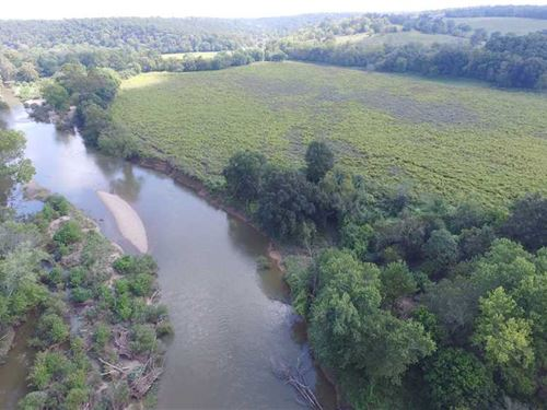 490 Acre Gasconade River Farm : Richland : Pulaski County : Missouri