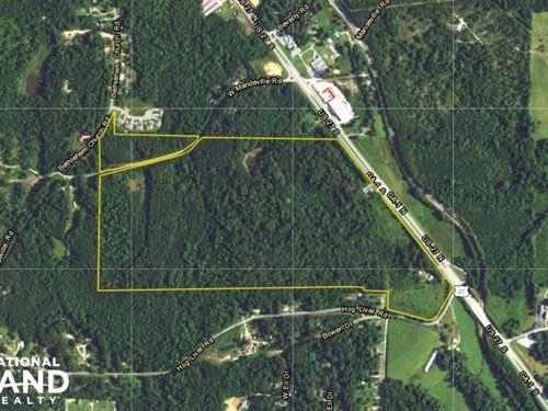 114 Acres US 27 Commercial/Resident : Carrollton : Carroll County : Georgia