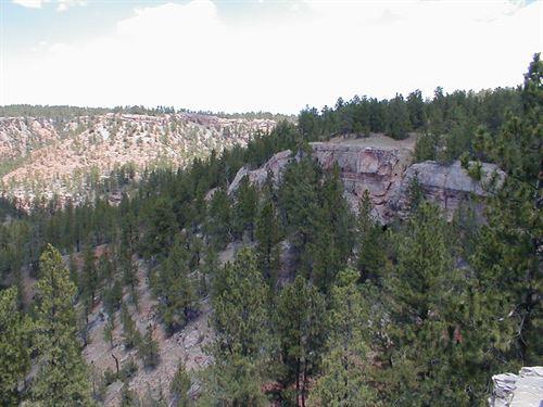 Camp Lakota 2 Canyon Rim Ranch : Hot Springs : Custer County : South Dakota