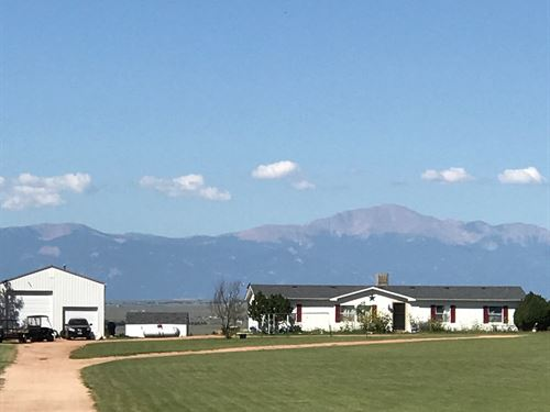 Live. Work. Play 35 Acre Retreat : Calhan : El Paso County : Colorado