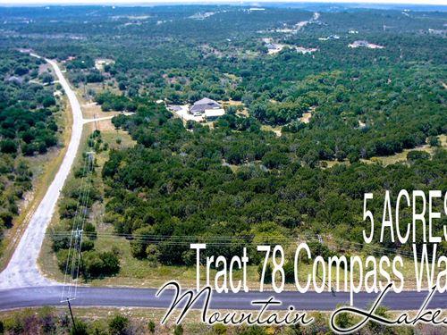 5.01 Acres In Erath County : Bluff Dale : Erath County : Texas