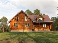 Pine Ridge Log Home Paradise : Crawford : Dawes County : Nebraska