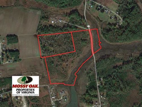 33 Acres of Waterfront Land For Sa : Hayes : Gloucester County : Virginia