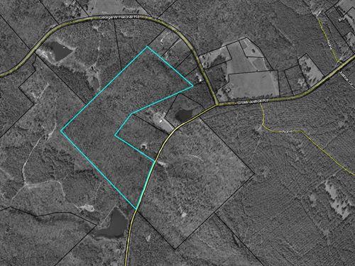 Recreation Tract Or Estate Property : Irwinton : Wilkinson County : Georgia