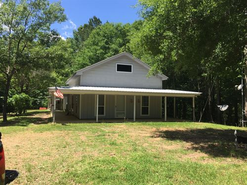 Beautiful Hunting Land With Pond : Roxie : Franklin County : Mississippi
