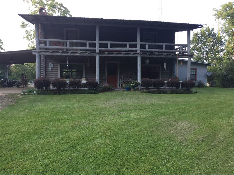 Dream Home With Acreage : Roxie : Franklin County : Mississippi
