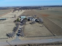 Luxury Home With 40 Acres : Ames : Major County : Oklahoma
