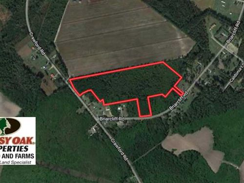 Under Contract, 19.26 Acres of Re : Lumberton : Robeson County : North Carolina