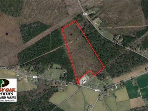 Under Contract, 37.5 Acres of Hun : Ahoskie : Hertford County : North Carolina