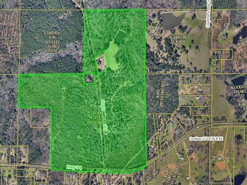 Land With Pond, Hwy Frontage : Eros : Ouachita Parish : Louisiana
