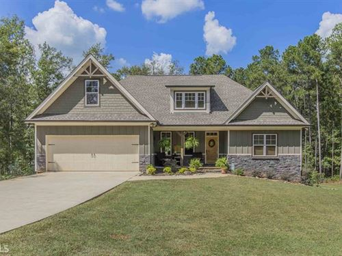 Privacy With This 5 Acre 4Br/3.5Ba : Eatonton : Putnam County : Georgia