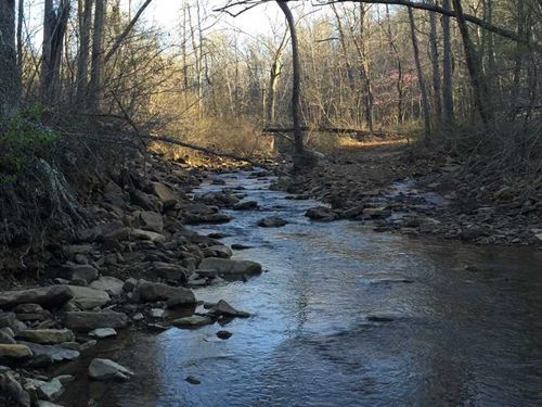 80 Acres With a Creek & Beauti : Marshall : Searcy County : Arkansas