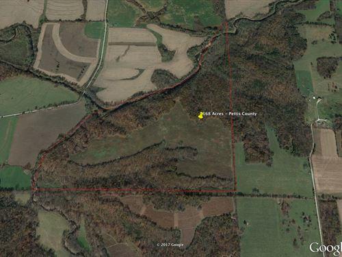 Deer & Turkey Hunting W/Tillable : Longwood : Pettis County : Missouri