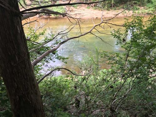 Strawberry River Frontage With Gre : Poughkeepsie : Sharp County : Arkansas