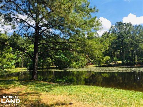 Winnsboro Springs Private Estate WI : Winnsboro : Fairfield County : South Carolina
