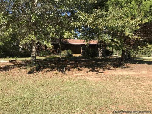 Beautiful Home On 40+/- Acres : Waynesboro : Wayne County : Mississippi