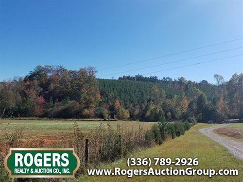 Multi Land Auction In Nc : Stoneville : Rockingham County : North Carolina