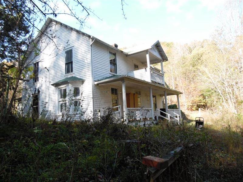Historic Farmhouse On Holston River Farm For Sale