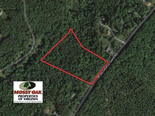 10 Acres Residential And Recreatio : Esmont : Albemarle County : Virginia