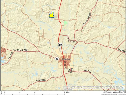 195 Ac West Prospect Rd : Jefferson : Marion County : Texas