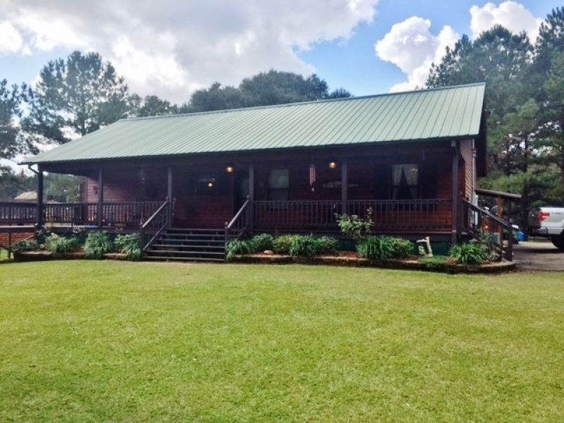 Cypress Cabin On 33 Acres North Pi Farm For Sale