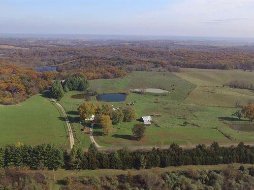 100 Acres - Hwy 149 - Macon County : Ethel : Macon County : Missouri