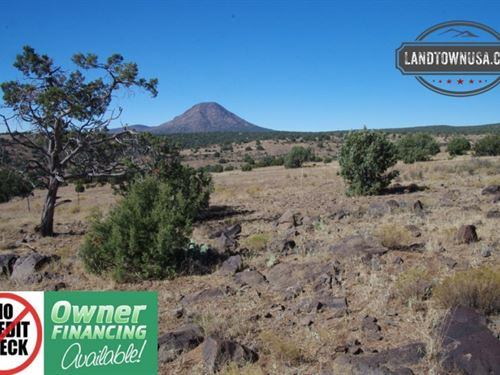 40.26 Acres With Amazing Views, Sw : Ash Fork : Yavapai County : Arizona