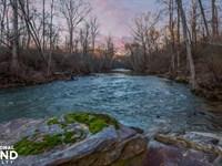 Mulberry Fork River Runs Through It : Blountsville : Blount County : Alabama