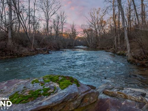 Mulberry Fork River Runs Through It : Blountsville : Blount County : Alabama