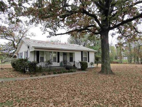 Acreage Close To The City : Reno : Lamar County : Texas