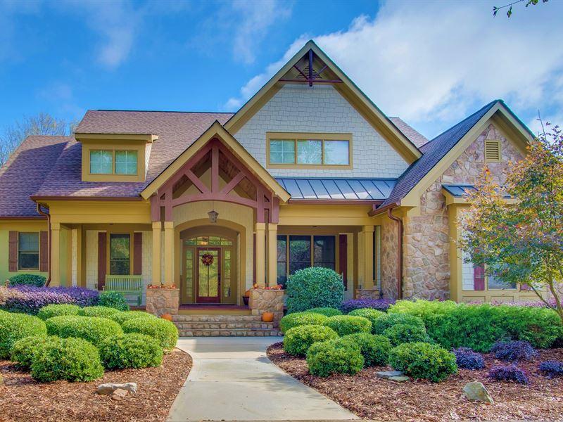 Stunning Estate With Two Ponds : Greensboro : Greene County : Georgia