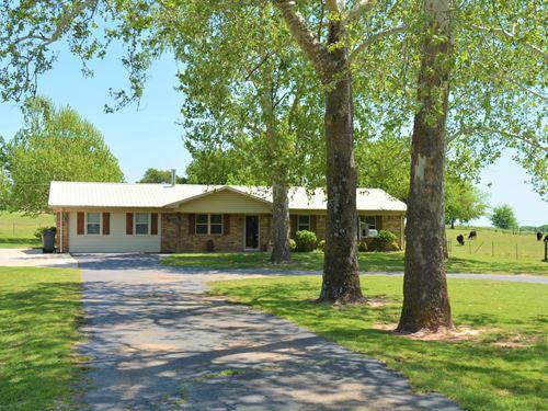 4 Bdrm, 2 Bath, 7 Acres : Pickton : Hopkins County : Texas