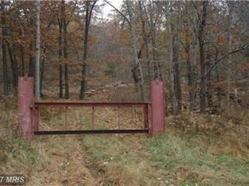 Gated Access To Protect Property : New Creek : Mineral County : West Virginia