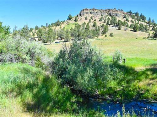 Kahler Basin Hideaway : Spray : Wheeler County : Oregon