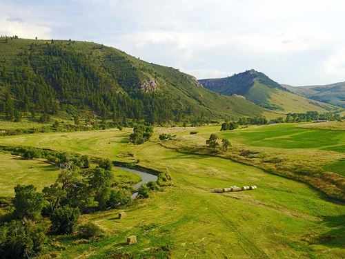 Hidden Valley Ranch : Glenrock : Converse County : Wyoming